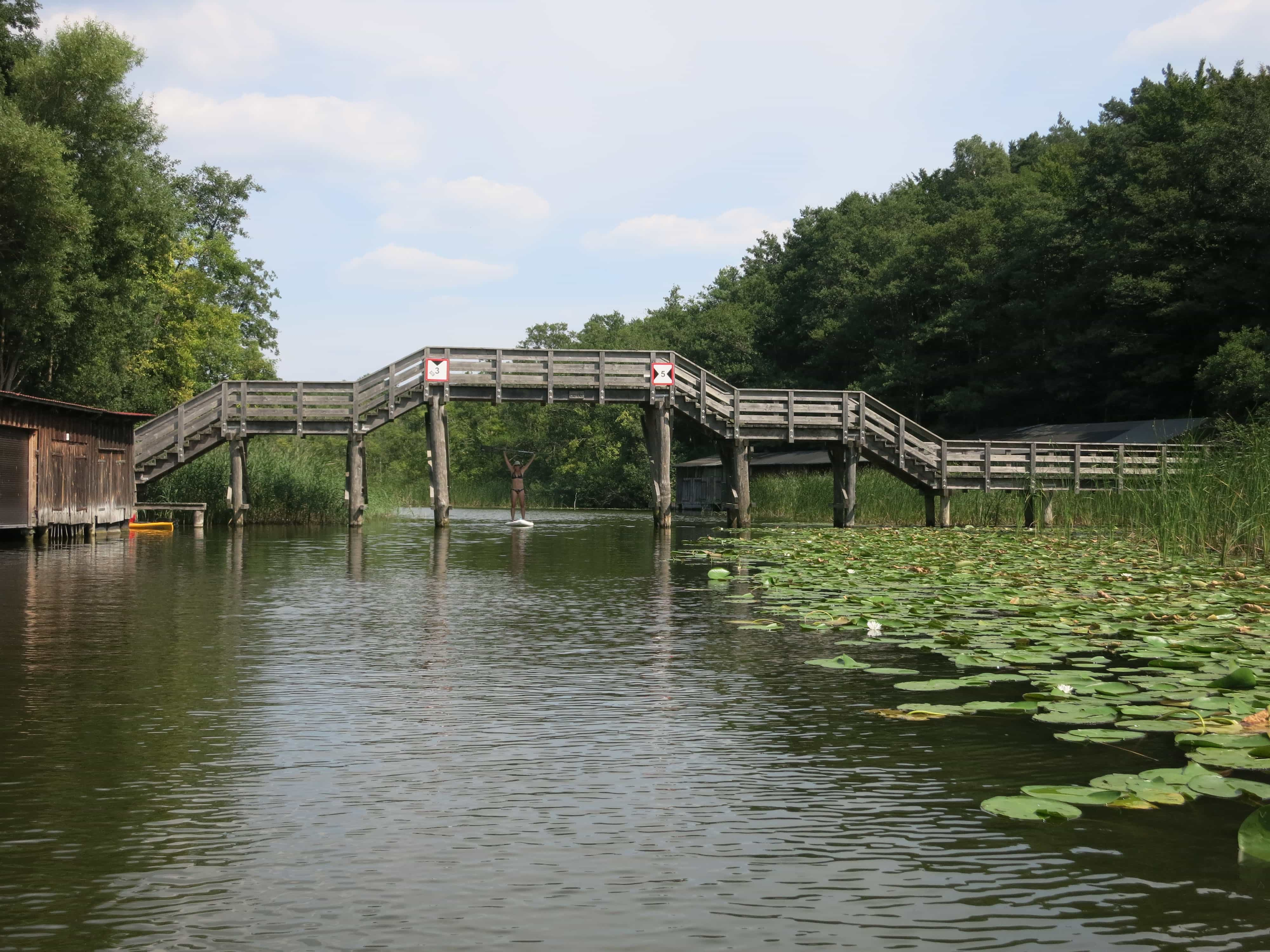 Wasserwandern Mecklenburgische Seenplatte Karte.Sup Tour 3 Seen Tour Auf Der Mecklenburger Seenplatte