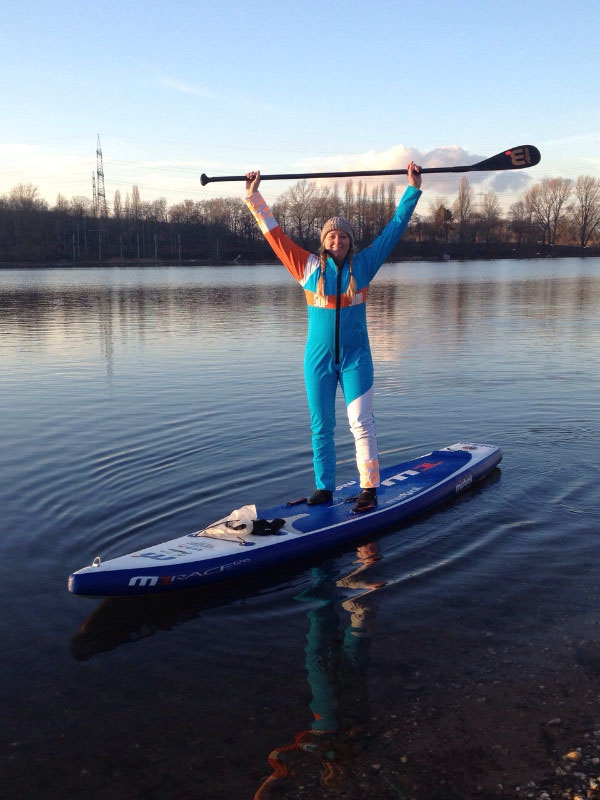 Jana's Paddlefit SUP-Training Bild