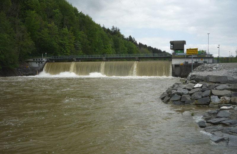 Fluhmühle beim Altusrieder Illerdurchbruch Bild