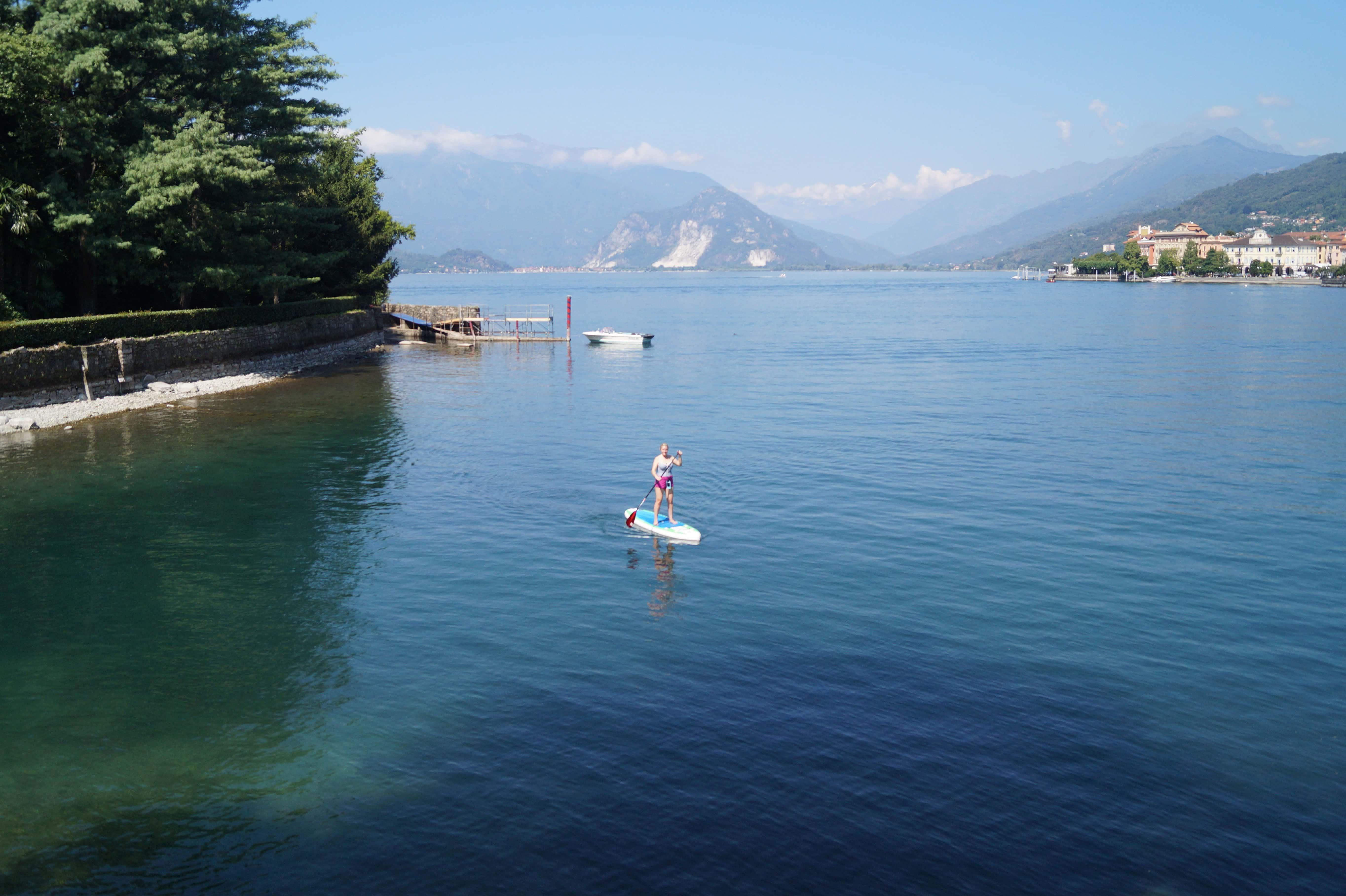 Lago Maggiore - von Verbania-Pallanza nach Verbania-Intra Bild