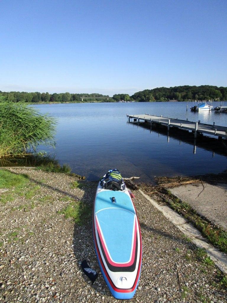 Auf dem Elbe-Lübeck Kanal von Mölln nach Lübeck Bild