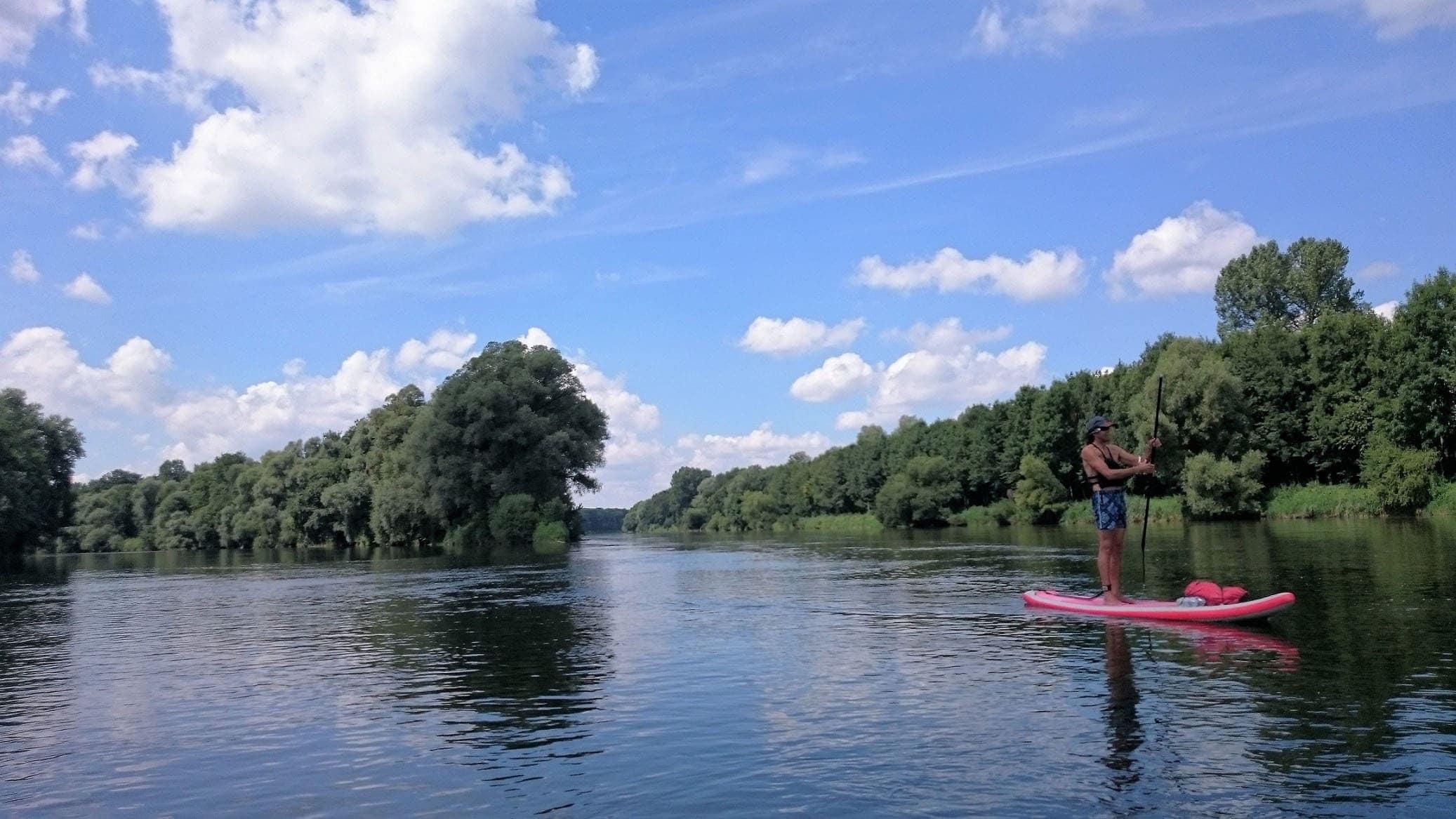 Auf der Donau von Donauwörth nach Neuburg Bild