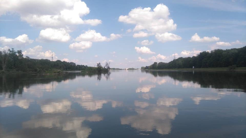 Donau von Neuburg nach Ingolstadt Bild