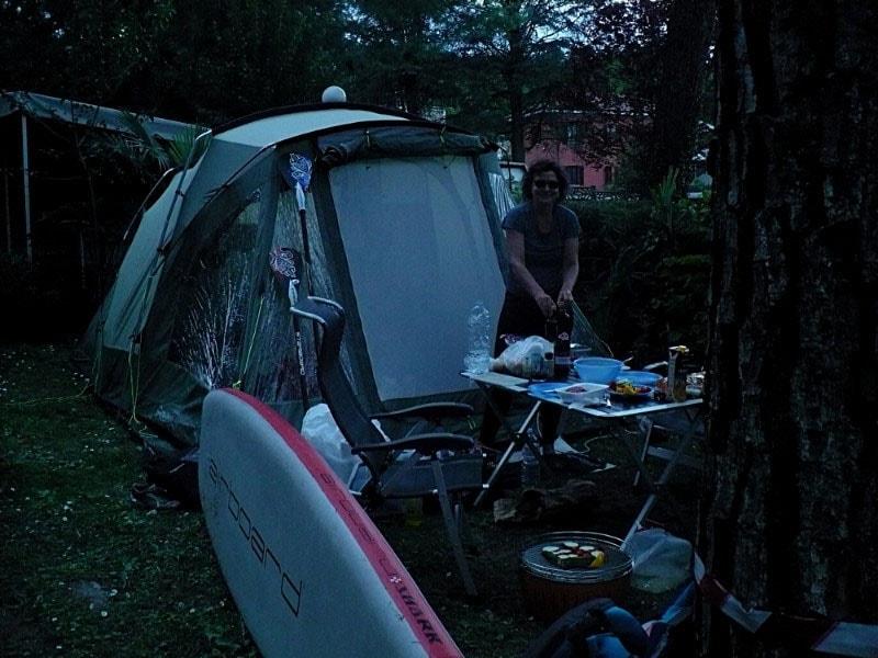 Camping International in Ponte Tresa Bild