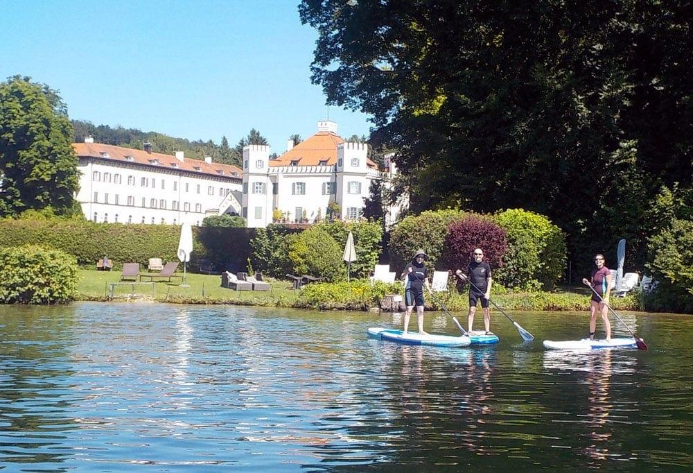 Sup Tour Starnberger See Schloss Possenhofen Supscout