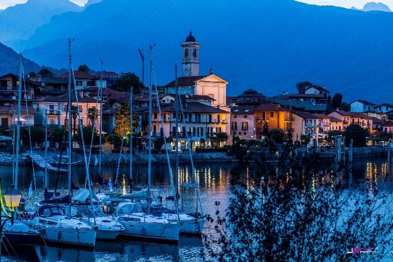 Lago Maggiore - Feriolo - Italien Bild