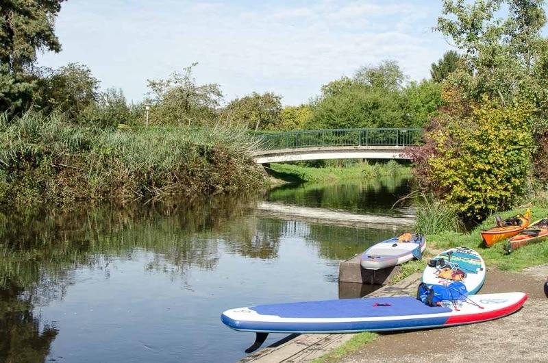 Fluss Niers - Freizeitpark Wachtendonk Bild