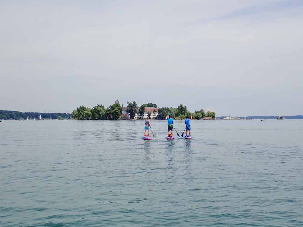 Chiemsee Karte.Sup Tour Chiemsee Fraueninsel Supscout